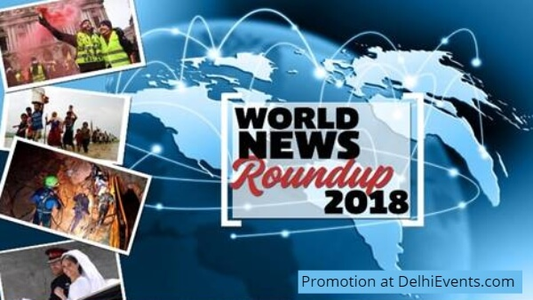 Hands On World News Roundup 2018 Kids Workshop Creative