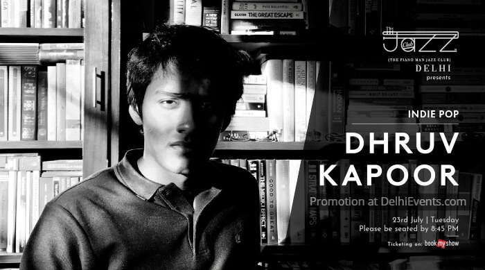Dhruv Kapoor Piano Man Jazz Club Creative