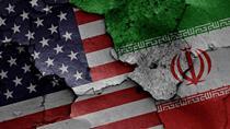 Iran US Flags Creative