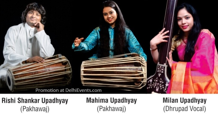 Rishi Shankar Upadhyay Pakhawaj Milan Dhrupad Mahima Pakhawaj
