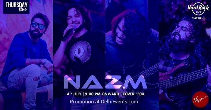 Nazm Hard Rock Cafe Creative