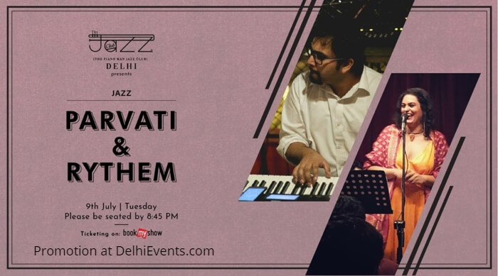 Parvati Rythem Piano Man Jazz Club Creative