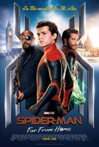 Spider Man Far From Home Movie Poster