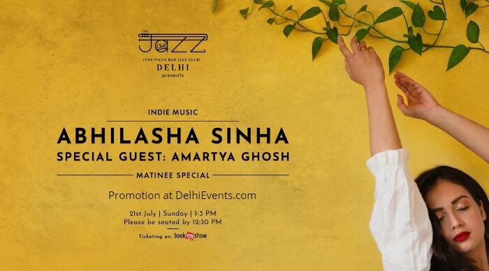 Abhilasha Sinha Matinee Special Piano Man Jazz Club Creative