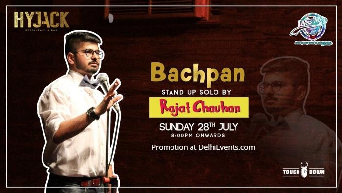 Bachpan standup Rajat Chauhan Hyjack Creative