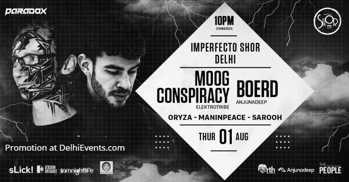 Boerd Moog Conspiracy Imperfecto Shor Creative