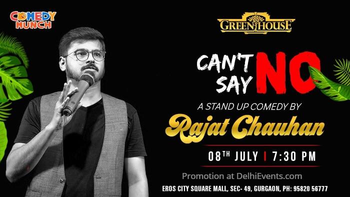 Comedy Munch standup Rajat Chauhan Green House Creative