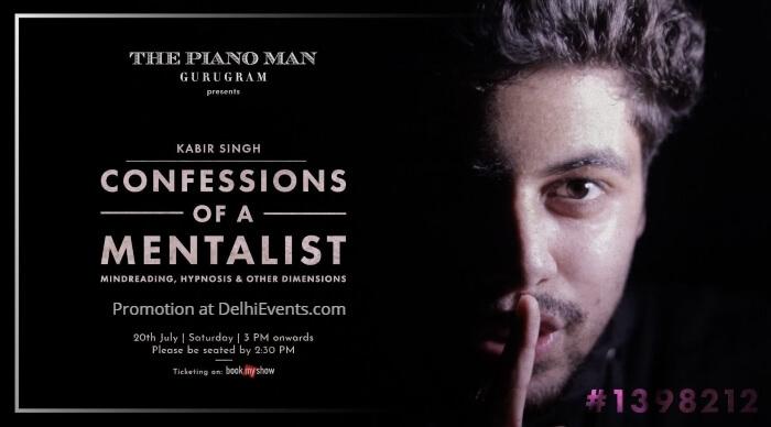 Confessions Mentalist Kabir Singh Piano Man Creative