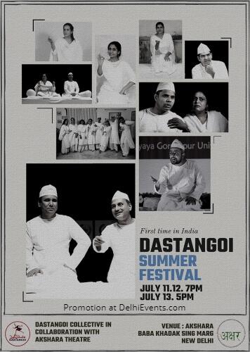 Dastangoi Summer Festival Akshara Theatre Creative