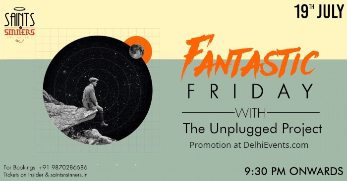 Fantastic Friday Unplugged Project Saints Sinners Creative