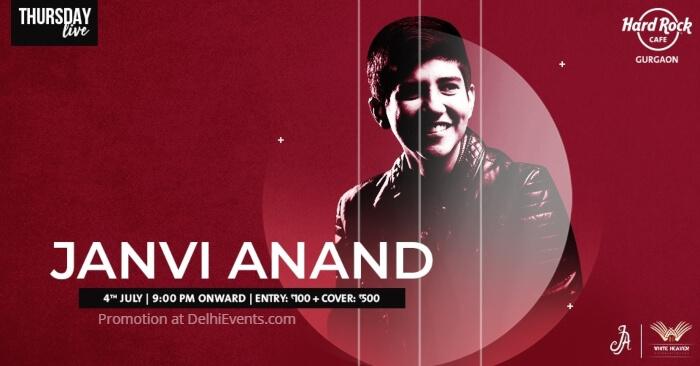 Janvi Anand Hard Rock Cafe Gurugram Creative