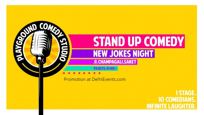 Jokes Line standup Playground Comedy Studio Creative