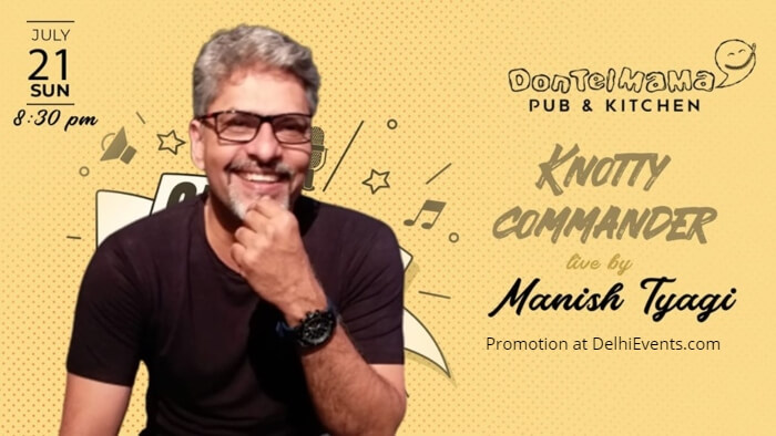 Knotty Commander standup Manish Tyagi DonTelMama Creative