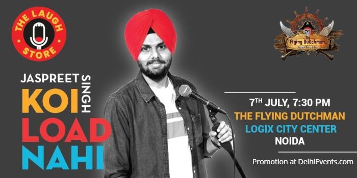 Koi Load Nahi standup Jaspreet Singh Flying Dutchman Creative
