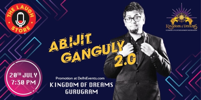 Abijit Ganguly standup Kingdom Dream Creative