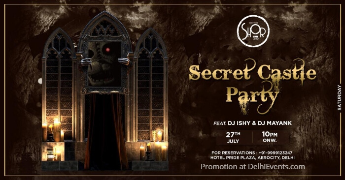 Secret Castle Party DJ Ishy Mayank Imperfecto Shor Creative