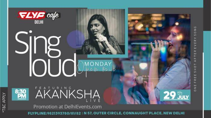 Sing Loud Monday Akanksha Flyp Cafe Creative