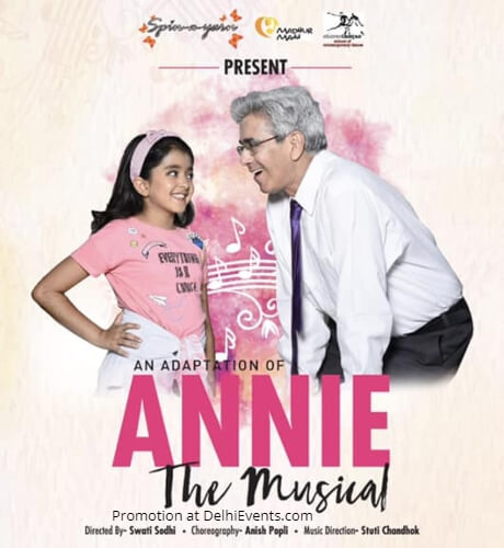 Spin Yarn Adaptation Annie Musical Play Shri Ram Centre Creative