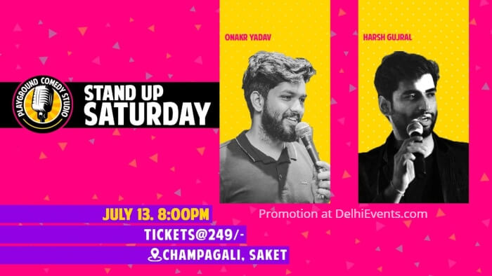 standup comedy Onkar Yadav Harsh Gujral Playground Comedy Studio Creative