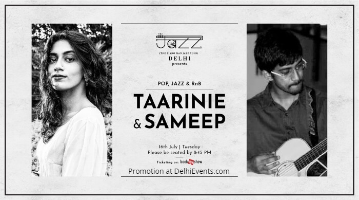 Taarinie Sameep Piano Man Jazz Club Creative