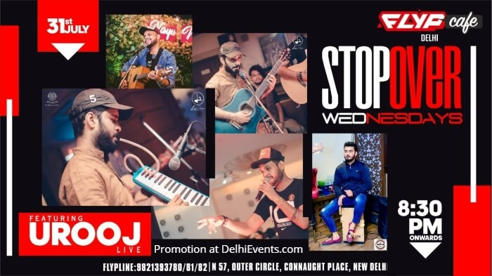 StopOver Wednesdays Urooj Flyp Cafe Creative