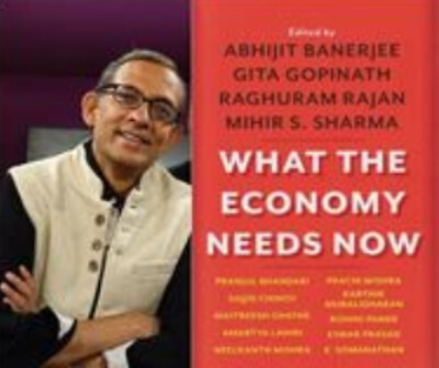 What Economy Needs Now Abhijit Banerjee Book Cover