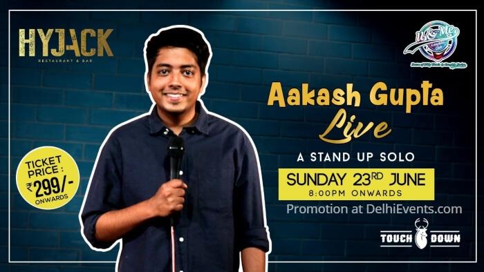 standup Aakash Gupta Hyjack Creative