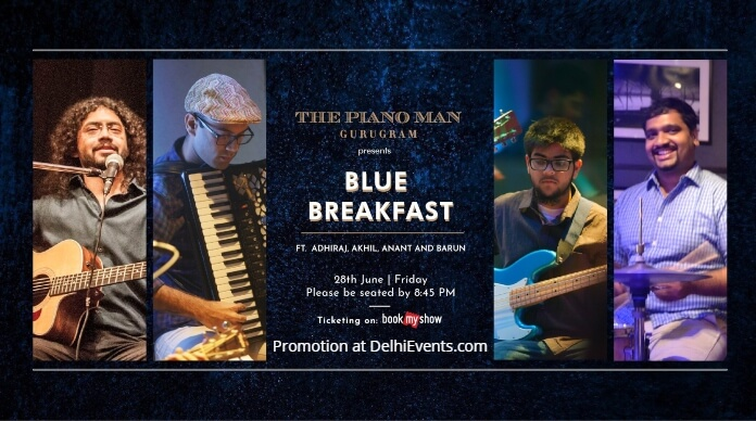 Blue Breakfast band Piano Man Creative