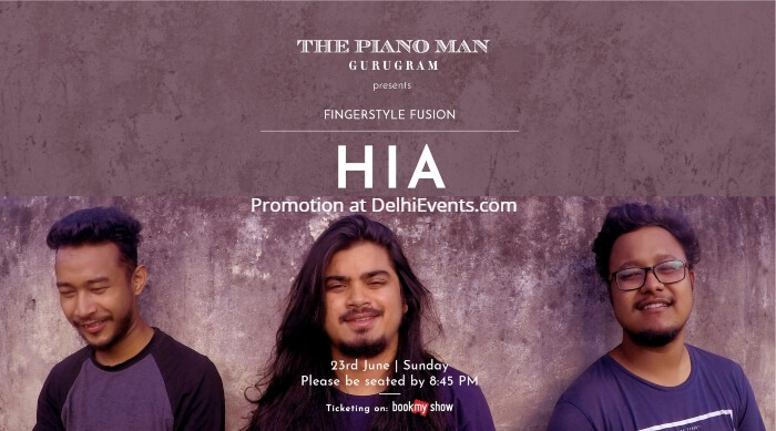 HIA Piano Man Jazz Club Creative