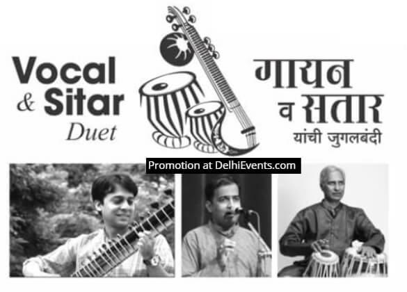 Infosys Foundation Bharatiya Vidya Bhavan Vocal Sitar Duet Sameep Kulkarni Saurabh Kadgaonkar Creative