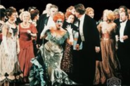 Johann Strauss Die Fledermaus Opera Film Still