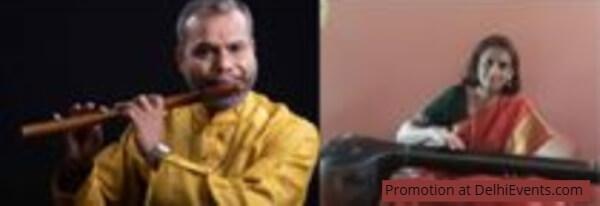 Flutist Raghuraman Govindarajan Vocalist Uma Money
