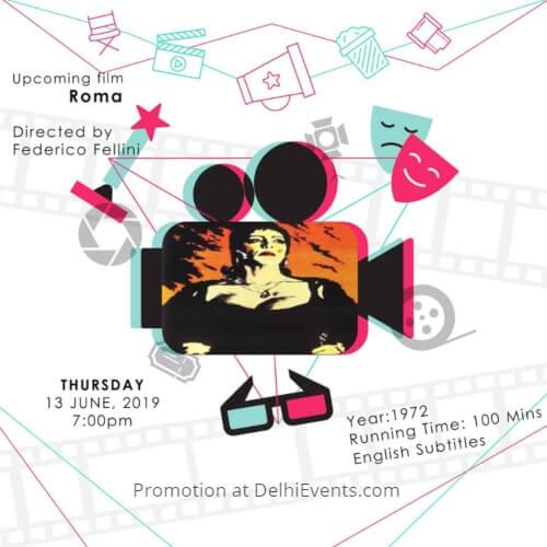 Roma Comedy Film Italian Embassy Cultural Centre Creative