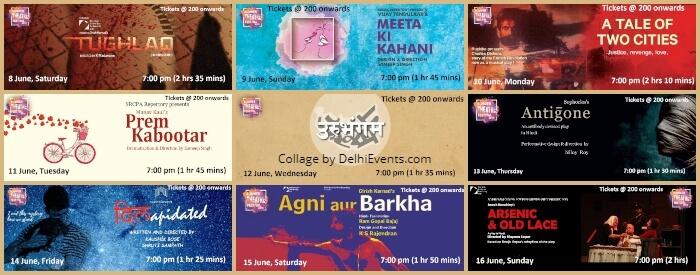 Summer Theatre Festival Shri Ram Centre Creatives