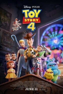 Toy Story 4 Animation Movie Poster