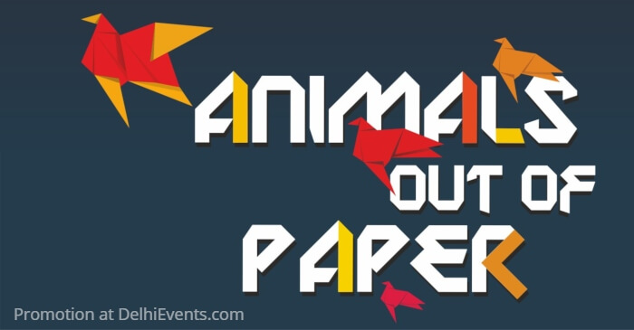 Animals Out Paper English Play Creative