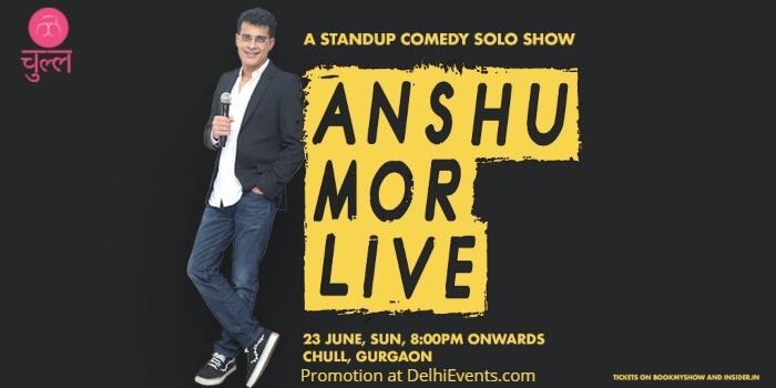 Standup comedy act Anshu Mor Chull Creative