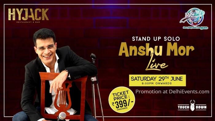 Hinglish standup comedy Anshu Mor Hyjack Creative