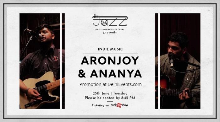 Aronjoy Ananya Piano Man Jazz Club Creative