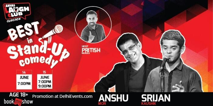 Best Standup Anshu Mor Srijan Kaushik Pritish Narula Canvas Laugh Club Creative