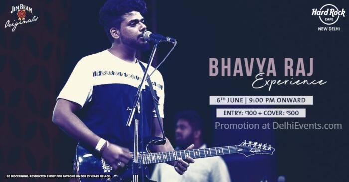 Bhavya Raj Experience Hard Rock Cafe Creative