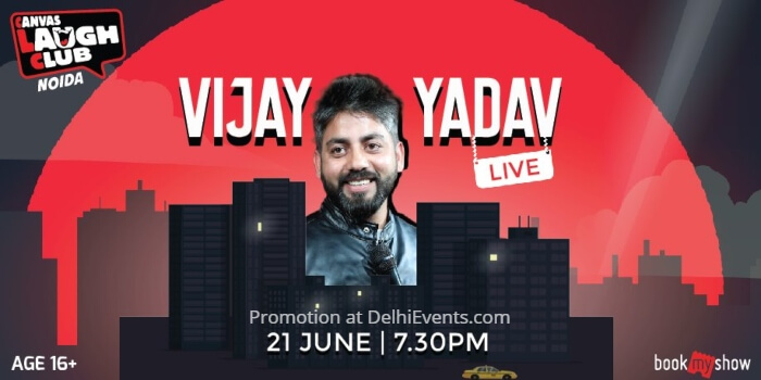 Standup Vijay Yadav Canvas Laugh Club Creative
