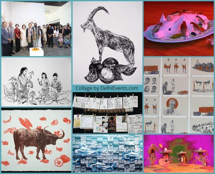Food Diplomacy Makan Ngga Makan Asal Kumpul group show Korean Cultural Centre Artworks