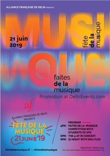 Fete De La Musique World Music Day Creative