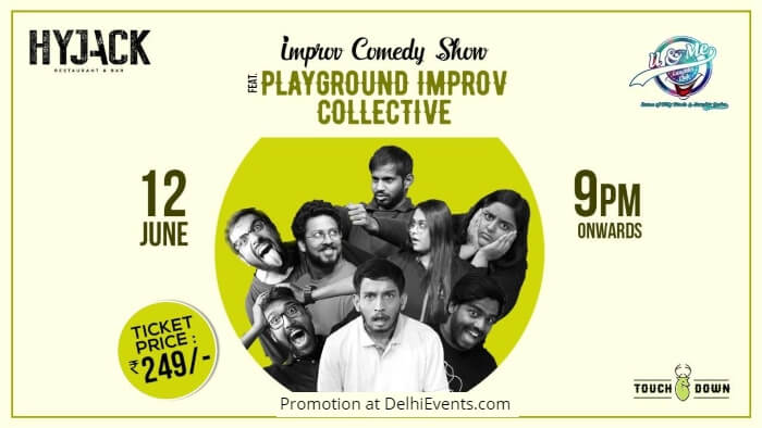 Improv Comedy Show Playground Improv Hyjack Restaurant Bar Creative