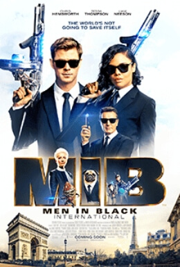 Men Black International Film Poster