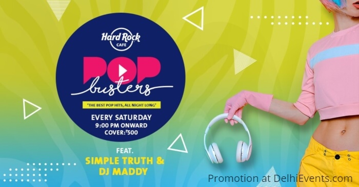Pop Busters Simple Truth Dj Maddy Hard Rock Cafe Creative