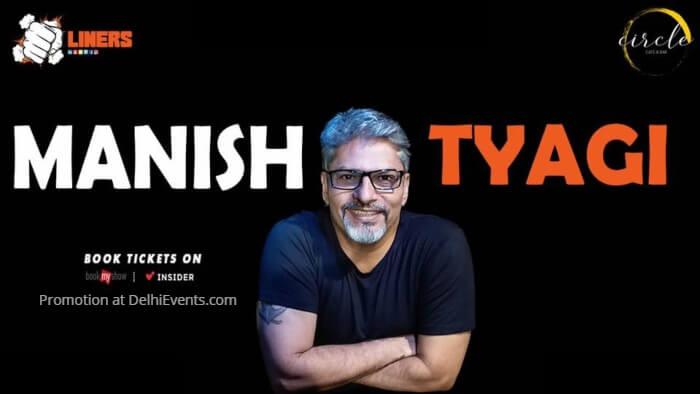 Punchliners standup Manish Tyagi Circle Cafe Creative