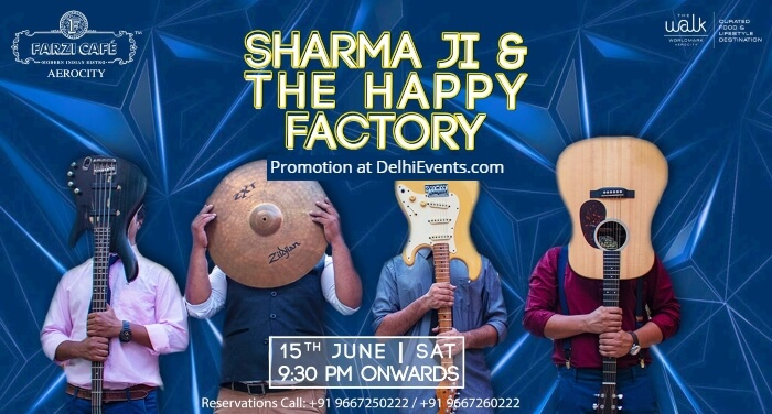Sharma Happy Factory Farzi Cafe Aerocity Creative