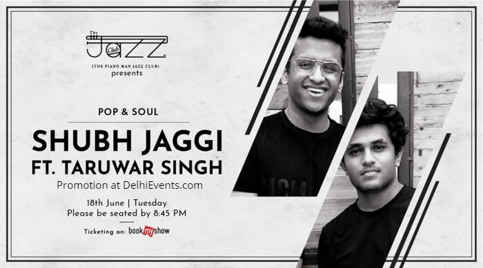 Shubh Jaggi Taruwar Singh Piano Man Jazz Club Creative